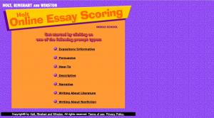 Online Scoring Site
