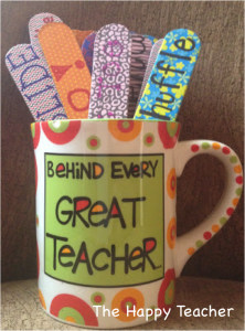 Courtesy of The Happy Teacher